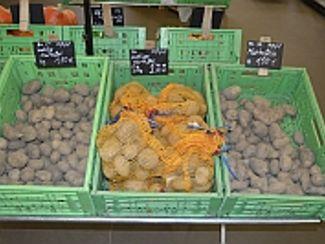 Prinzessinnen günstig zu haben: Kartoffelaktion am Müßighof