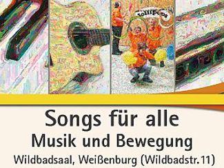 Songs für alle - Musik und Bewegung