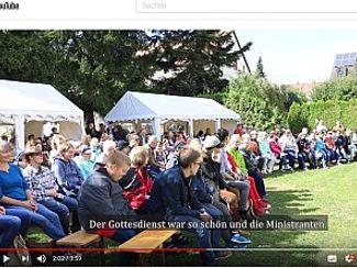 Unsere Finissage im Video der Diözese Eichstätt