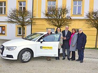 AUDI übergab neues Spendenfahrzeug