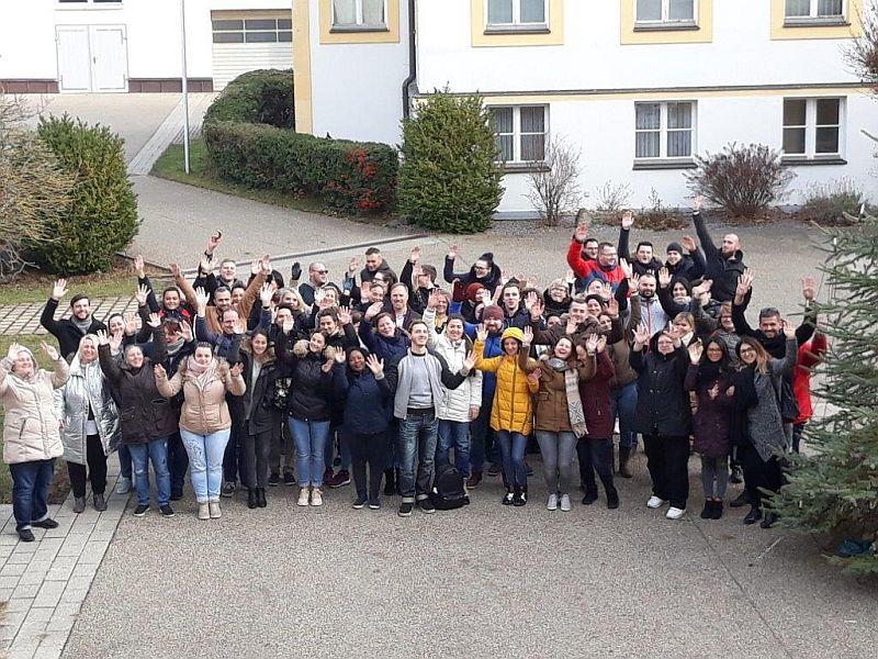 Nürnberger Altenpflegeschüler auf Infobesuch