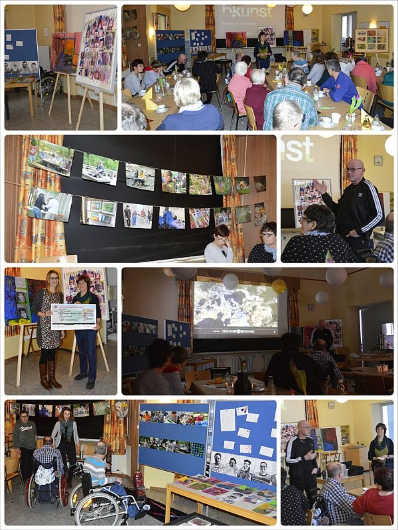 10. inklusives Gemeinschafts-Kunstprojekt gefeiert