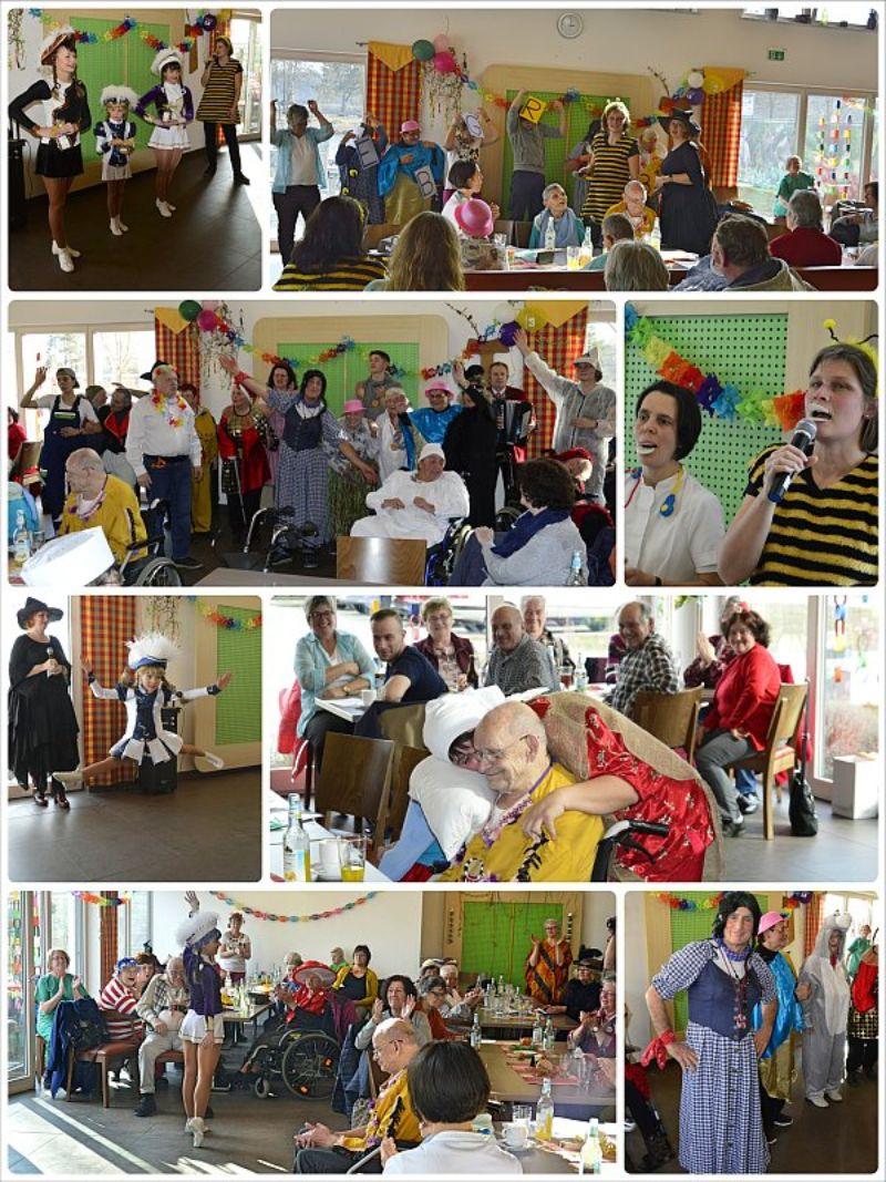 Senioren feierten Fasching im Müßighofbistro