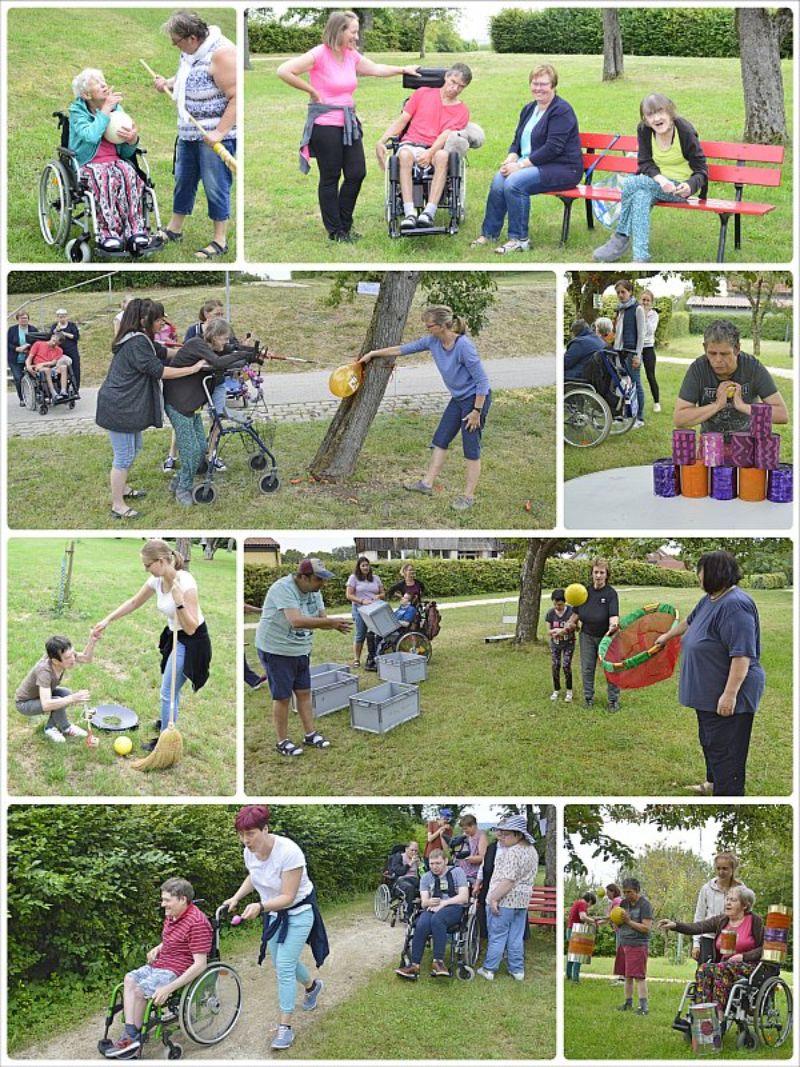 Spiel und Spaß beim Sportfest der Förderstätte