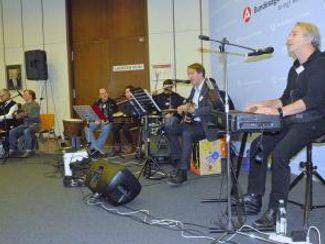 Regens Wagner Band spielte in der BA