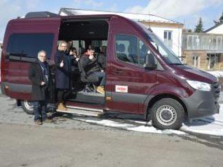 RW Haus Langlau freut sich über Kleinbus