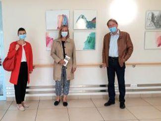 Treuchtlingens Bürgermeisterin besuchte Regens Wagner-Haus