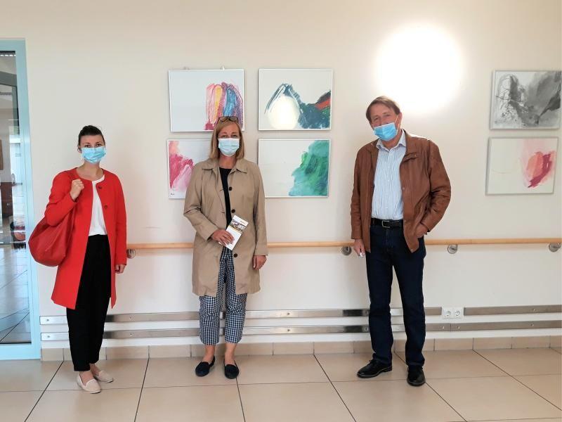 V.l.n.r.: Marina Stoll, Dr. Dr. Kristine Becker, Manfred Rehm