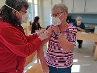 Impfungen für BewohnerInnen abgeschlossen