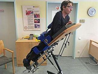Stehtrainer ermöglicht neue Körpererfahrungen